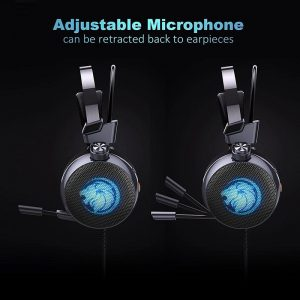 Lionny N43 Gaming Headset 7.1 with Mic LED 3