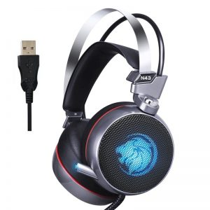 Lionny N43 Gaming Headset 7.1 with Mic LED 4