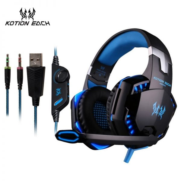 KOTION EACH Gaming Headset With Microphone