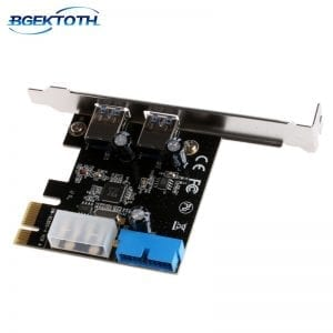 PCI Express USB 3.0 Front Panel with Control Card