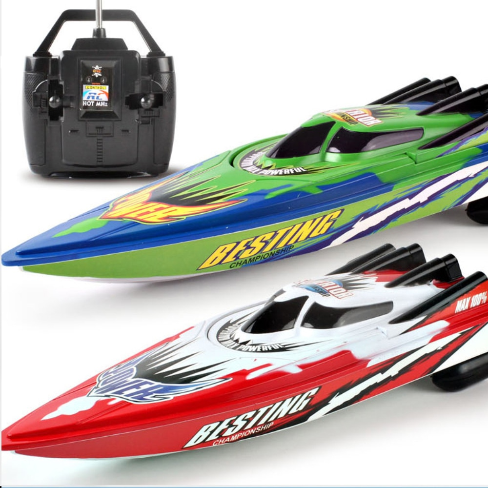 RC Boats Plastic Electric Speed Boat