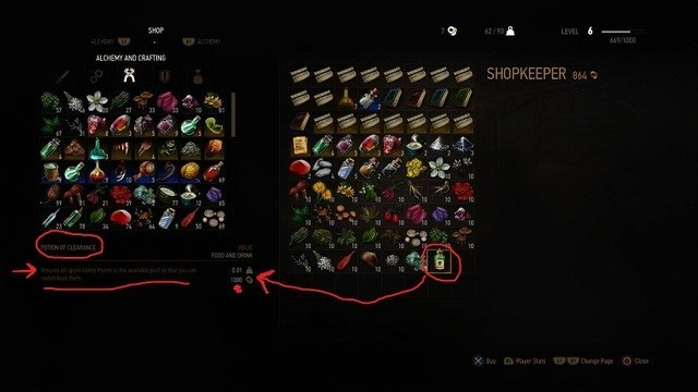 Witcher  Greater Rune Crafting