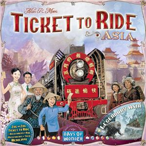 Ticket to Ride: Asia + Legendary Asia