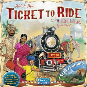 Ticket to Ride: India + Switzerland