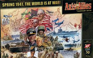 Axis & Allies 50th Anniversary Edition