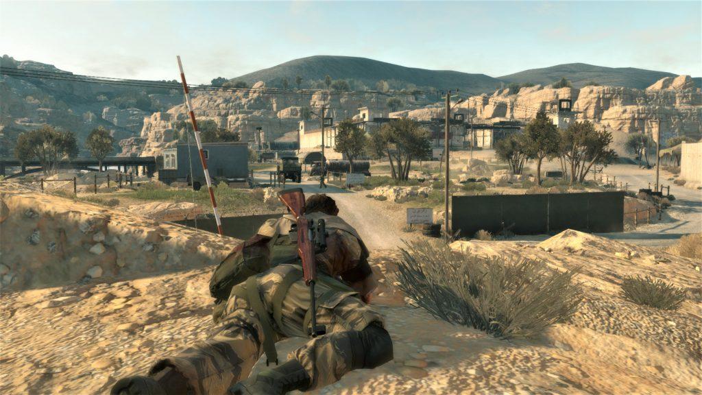 Metal Gear V: The Phantom Pain | Gammicks