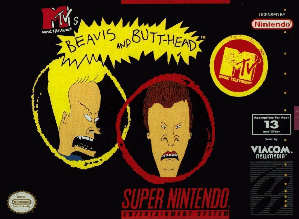 Beavis and Butt-Head | 8 Most Disgusting Nintendo Games | Gammicks