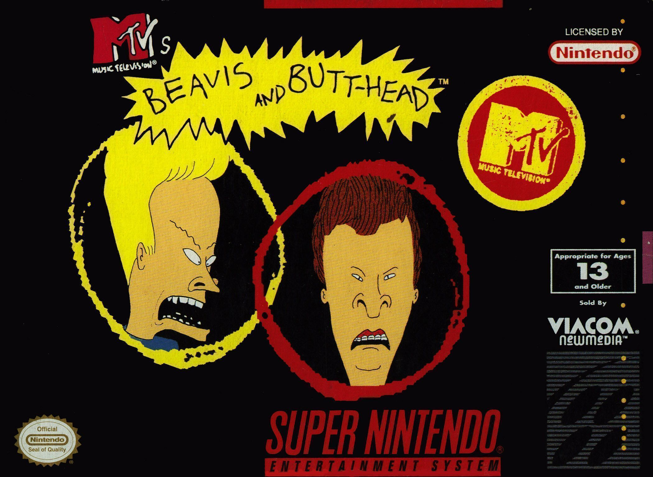 Beavis and Butt-Head | 8 Most Disgusting Nintendo Games | Gammicks