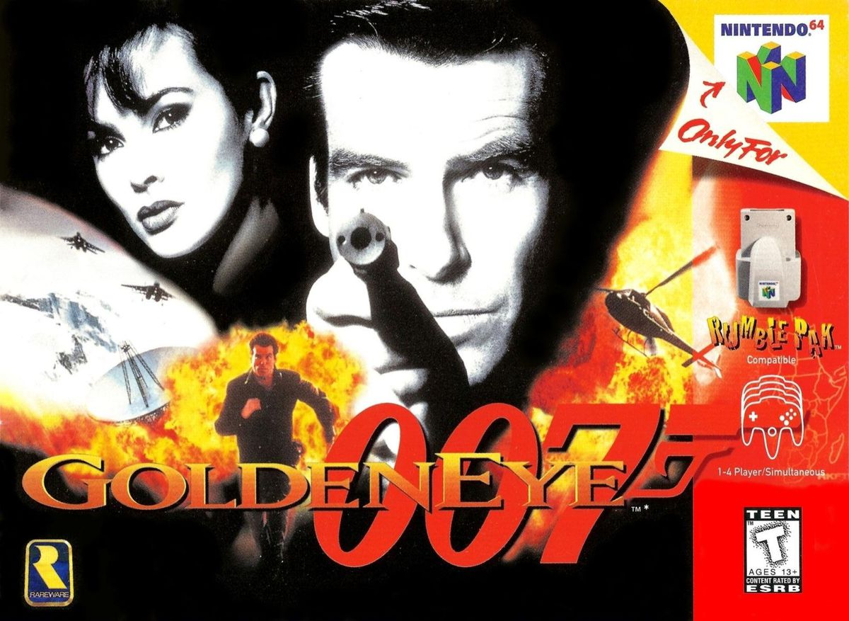 Goldeneye 007 | 8 Games That Changed Your Childhood | Gammicks