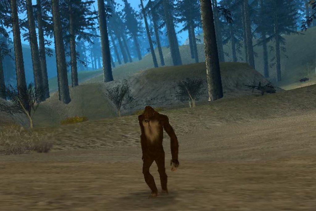 Bigfoot in GTA: San Andreas | The 8 Strangest Video Game Myths | Gammicks