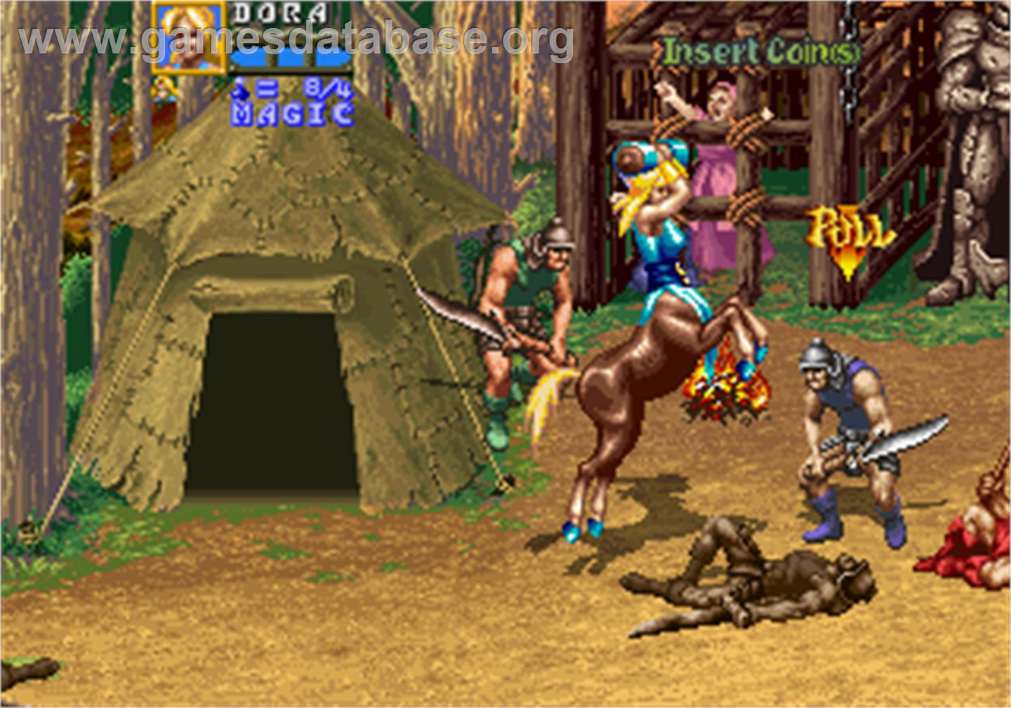 Golden Axe: The Revenge of Death Adder | 8 Coolest Games You Could Only Play in Arcades | Gammicks
