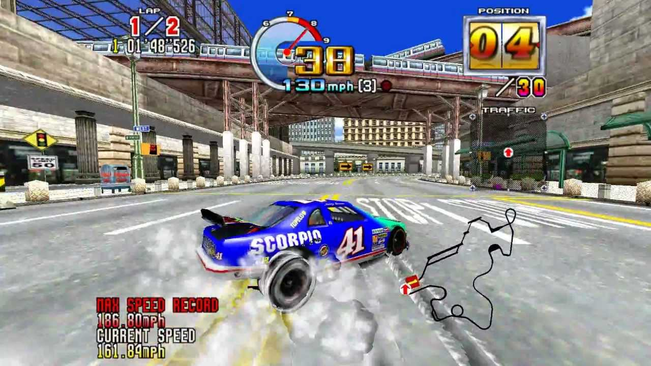Daytona USA 2 | 8 Coolest Games You Could Only Play in Arcades | Gammicks