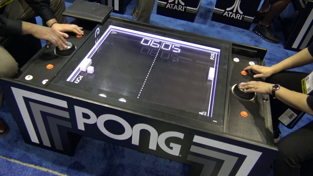 Pong | 8 Coolest Games You Could Only Play in Arcades | Gammicks