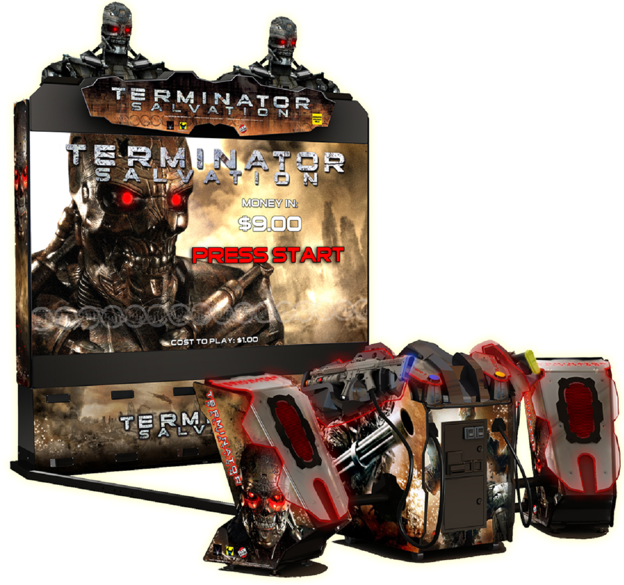 Terminator Salvation | 8 Coolest Games You Could Only Play in Arcades | Gammicks