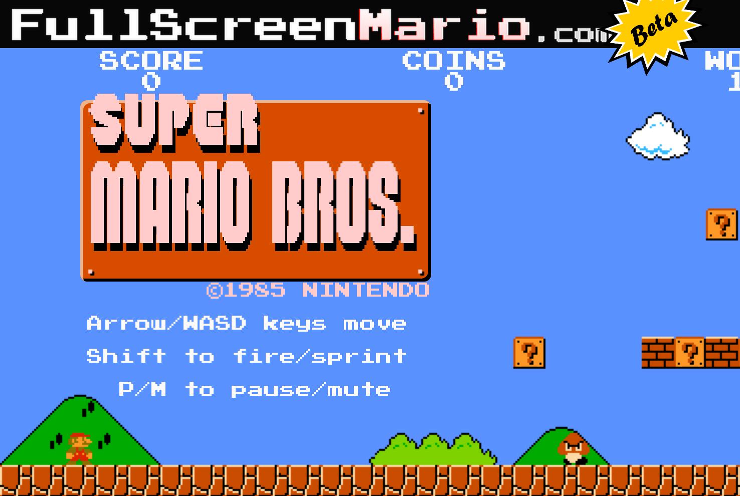 Full Screen Mario | 8 Awesome Fan Games Shut Down By Nintendo | Gammicks
