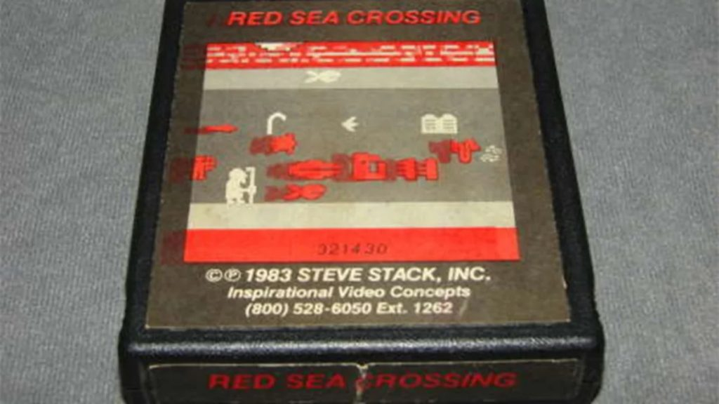 Red Sea Crossing | The 8 Rarest Video Games That Are Worth a Fortune | Gammicks