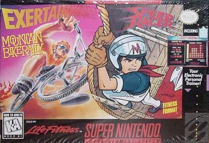 Exertainment Mountain Bike Rally & Speed Racer | The 8 Rarest Video Games That Are Worth a Fortune | Gammicks