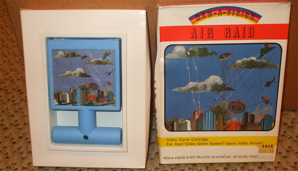 Air Raid | The 8 Rarest Video Games That Are Worth a Fortune | Gammicks