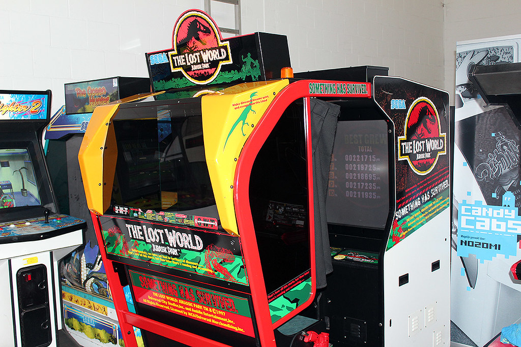 The Lost World: Jurassic Park | 8 Coolest Games You Could Only Play in Arcades | Gammicks