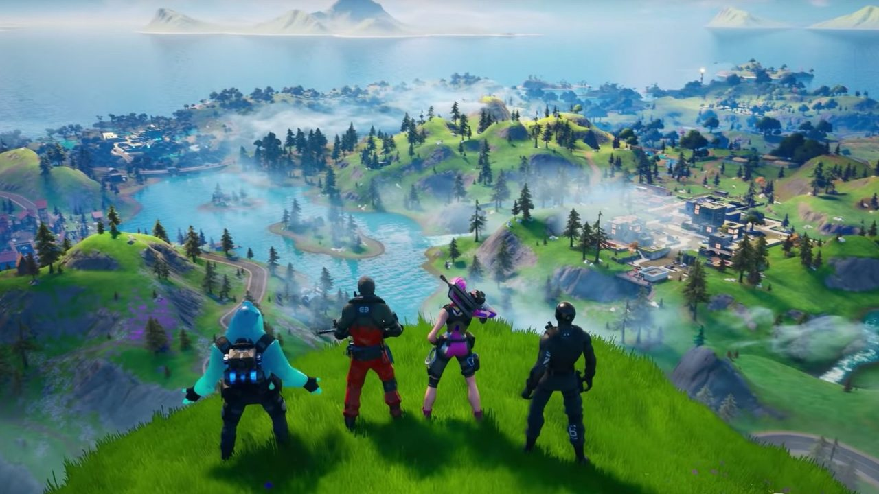 New Map   After the Black Hole: 11 Changes in Fortnite Chapter 2   Gammicks