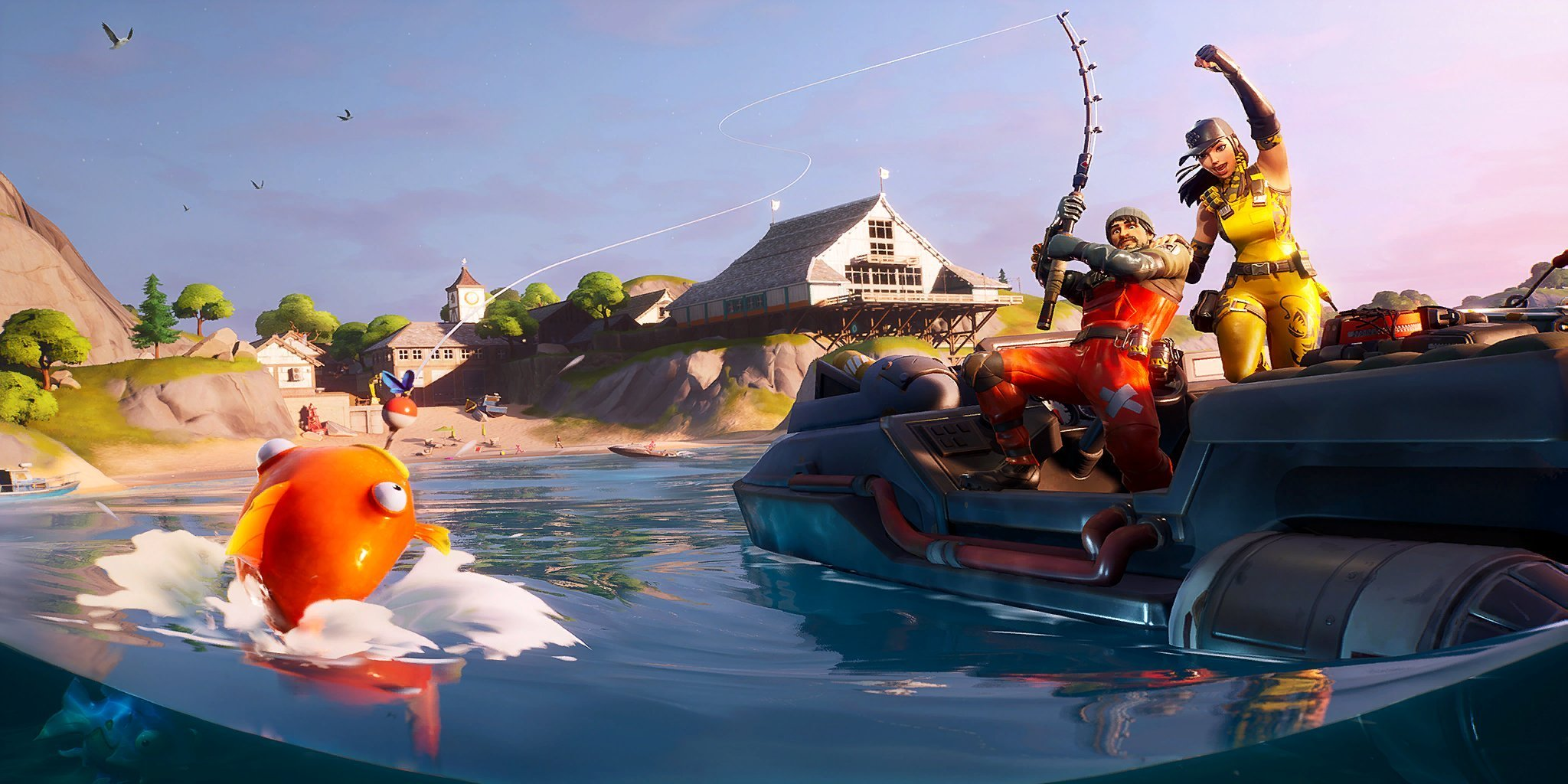 Gone Fishing   After the Black Hole: 11 Changes in Fortnite Chapter 2   Gammicks