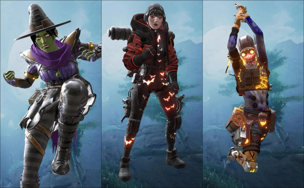 New Halloween Skins Are Available | All The Latest Information About Apex Legends | Gammicks