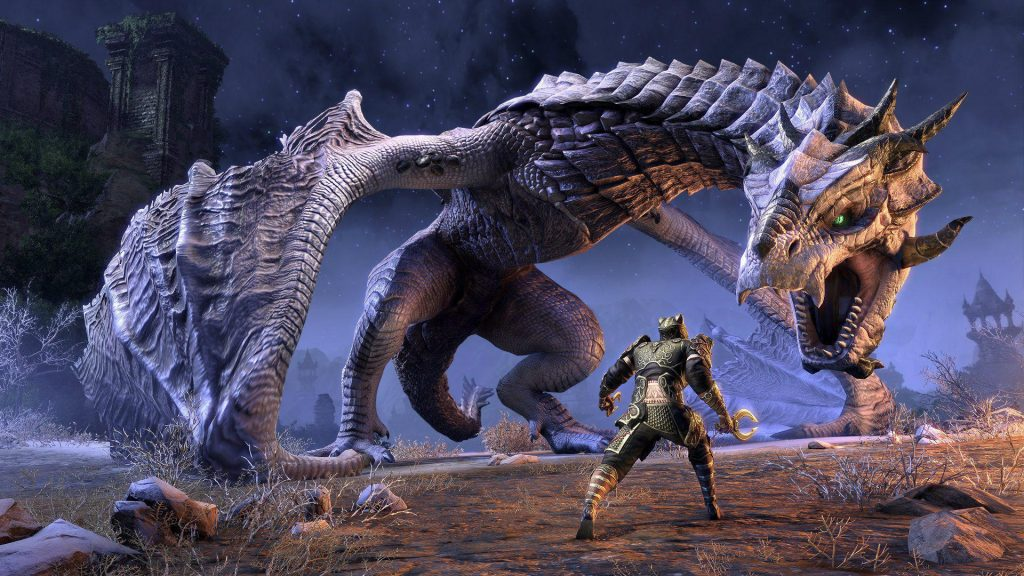 The Elder Scrolls Online  | All the Biggest Games That Are Coming to Google Stadia | Gammicks