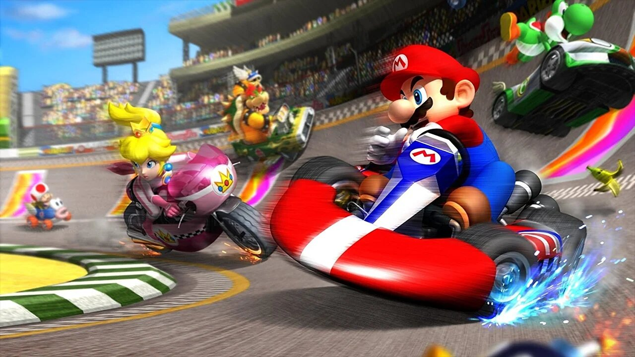 Mario Kart | 8 Perfect Games To Play The Family This Christmas | Gammicks
