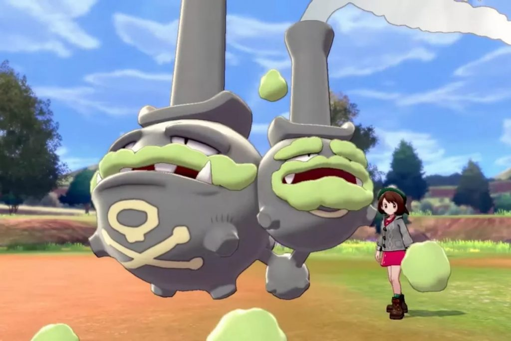 Galarian Weezing | A Guide To The Best New Pokémon In Sword & Shield | Gammicks