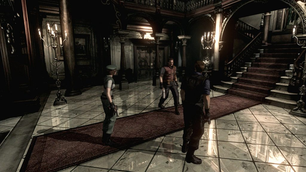 Who's a good boy? (Resident Evil) | The Top 10 Most Insane Video Game Set Pieces | Gammicks.com