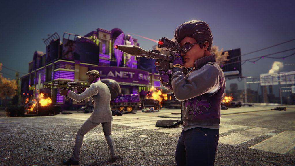 It isn't serious at all | You can start anywhere, really | 10 Great Reasons to play the Saint's Row Games | Gammicks.com