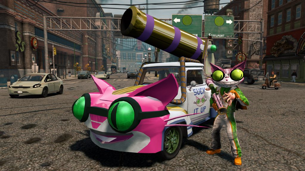 Plenty of vehicles to try | You can start anywhere, really | 10 Great Reasons to play the Saint's Row Games | Gammicks.com