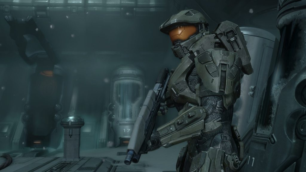 Master Chief waking up in Halo 4 | The 10 Greatest Moments From the Halo Games | Zestradar