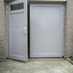 Garagedeur kopen - Garagedeur met loopdeur