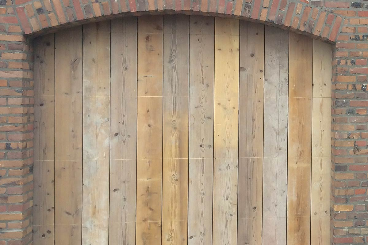 Steigerhouten-garagedeuren