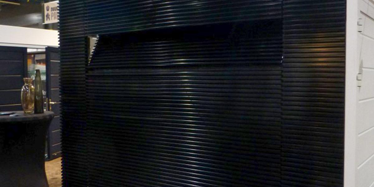 Aluminium-lamellen-garagedeur