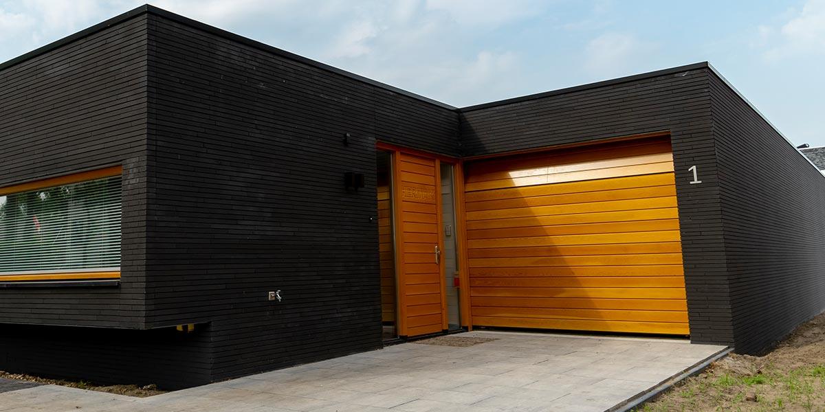 Sectionaal Garagedeur Uitstekende Isolatie Veilig