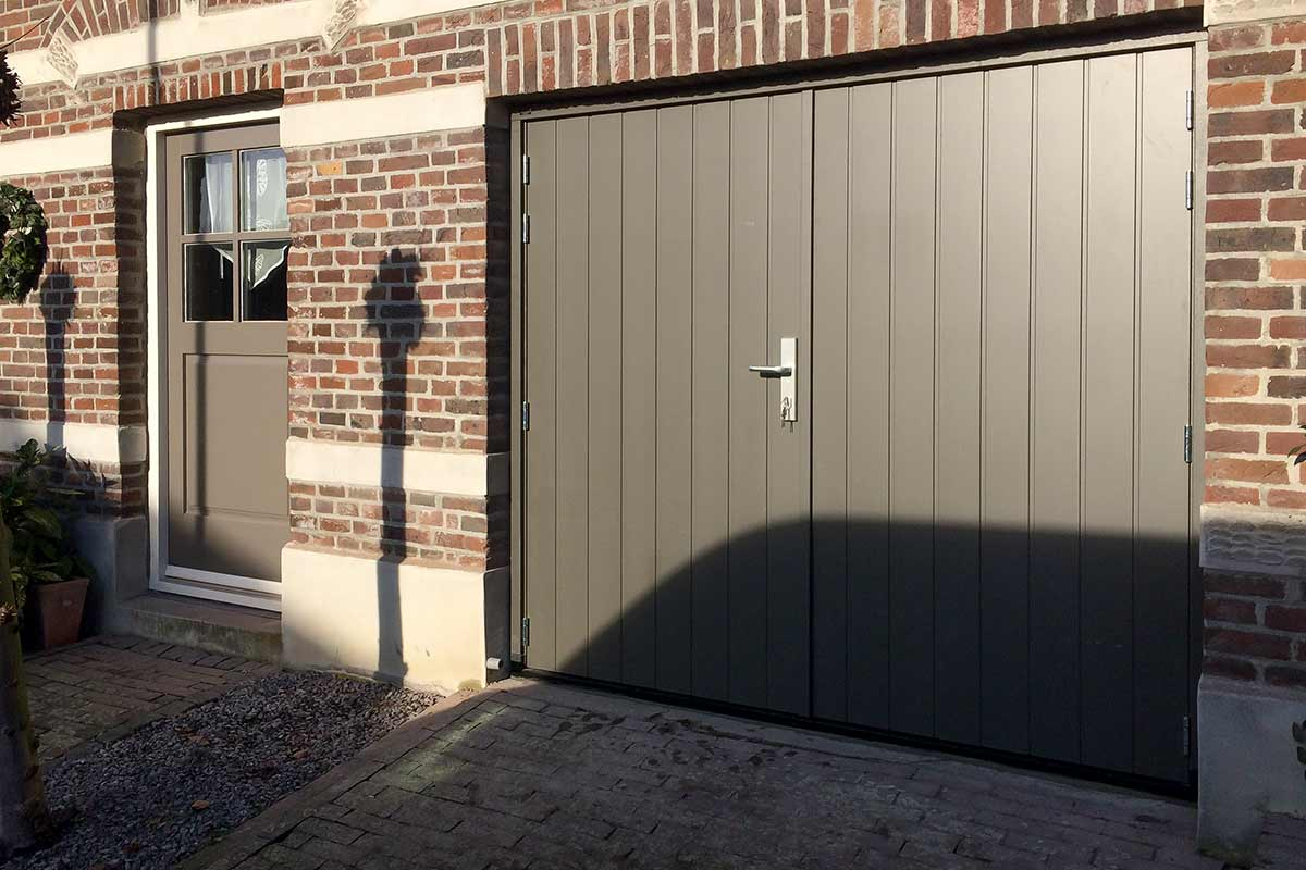 Openslaande Deuren Tweedehands : Houten openslaande garagedeuren different doors garagedeuren