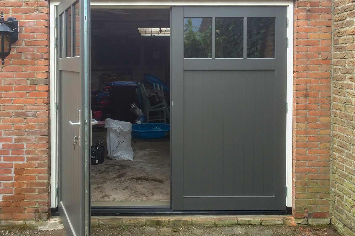 Genoeg Houten openslaande garagedeuren » Stijlvolle uitstraling & Mooie #VR86