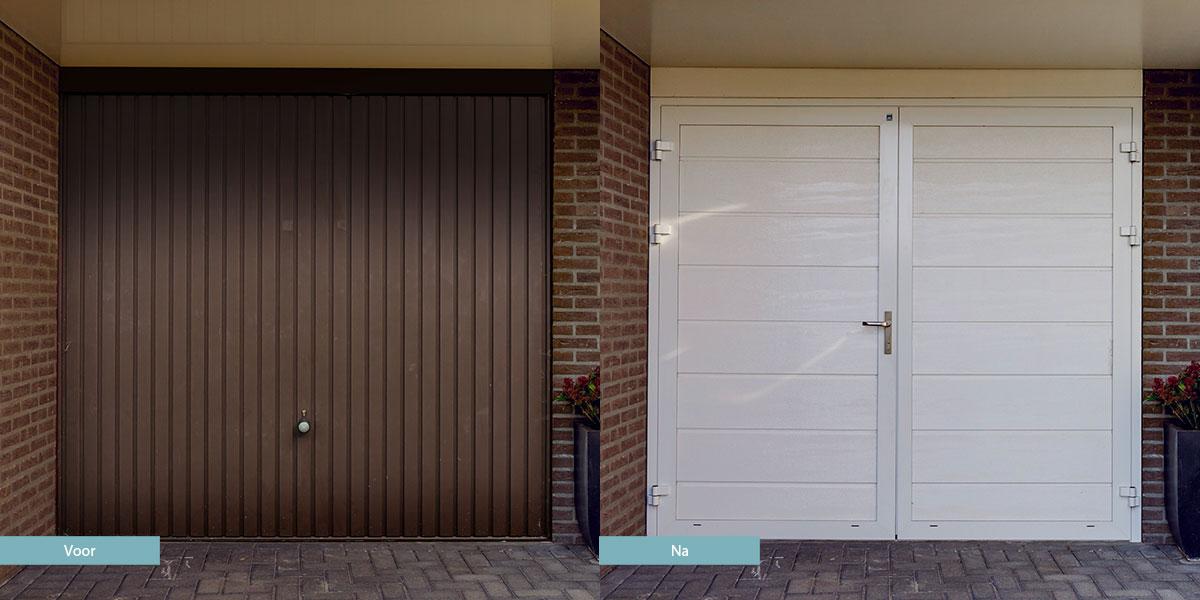 Nieuwe garagedeur