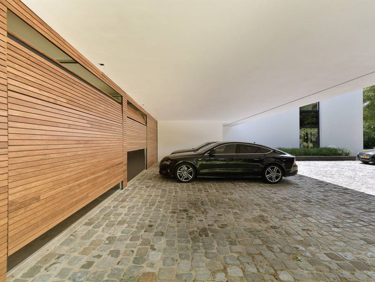 sectionaaldeur plato hout