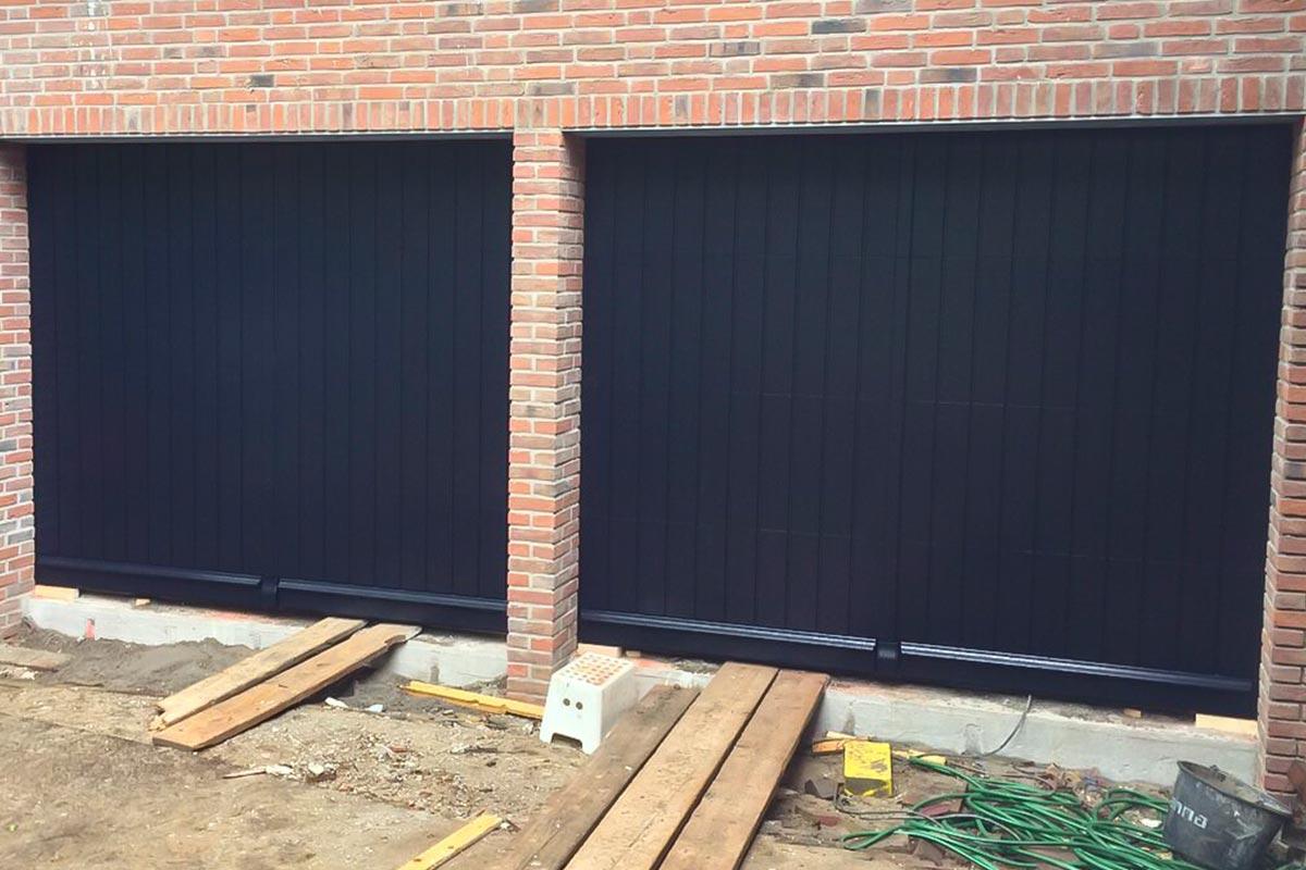 elektrisch-houten-garage-deuren-wassenaar