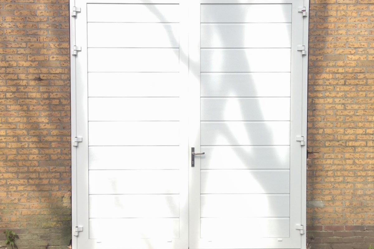 RAL 9016 garagedeur