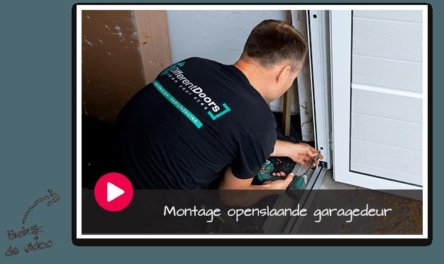 Garagedeur montage