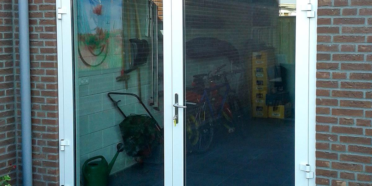 garagedeur volledig glas