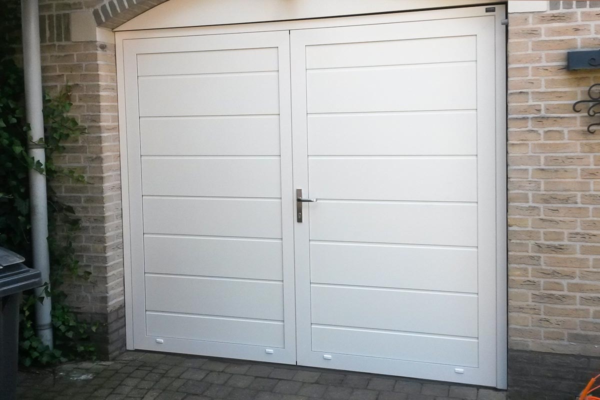 Geïsoleerde garagedeur