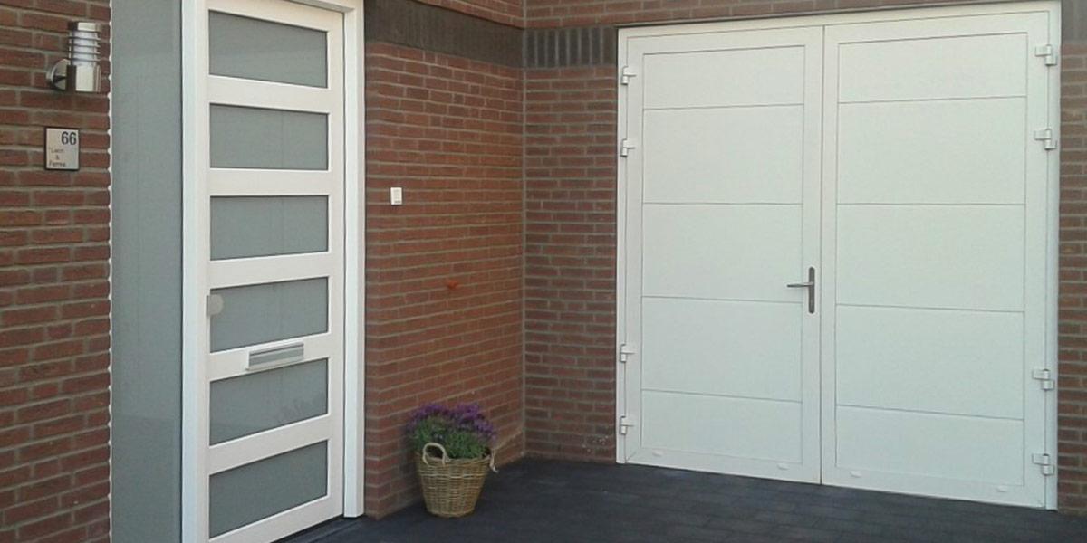 RAL-9010 garagedeur