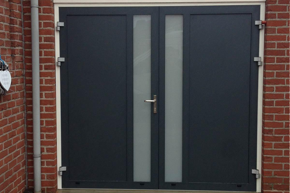 Nieuw Openslaande deuren met verticaal melkglas » Vakkundig en snel YY-14