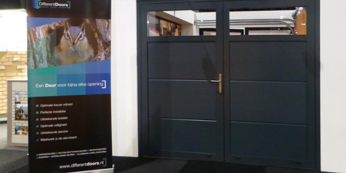 Openslaande deuren verzonken schanieren
