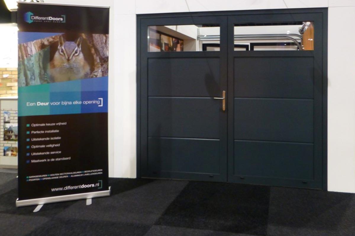 Openslaande deuren met verzonken scharnieren